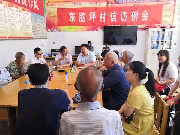 郑州财经学院师生党员走进林州山区与基层党支部举办主题党日活动